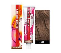 Краска для волос 6/35 Wella Color Touch Темный блондин золотисто-махагоновый 60 мл