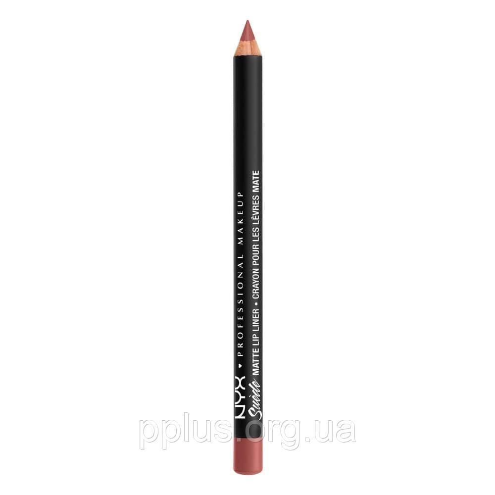 NYX Матовый карандаш для губ Suede Matte Lip Liner №39 (Cyprus)
