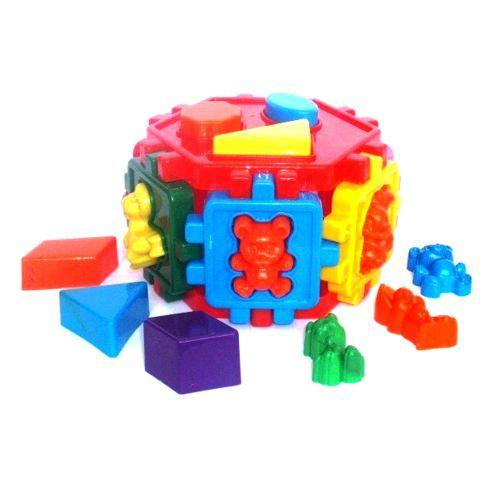 Сортер-шестигранник и сортер-куб KW-50-106