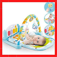 Развивающий коврик - пианино для младенцев Игровой коврик для мальчика от 0 мес