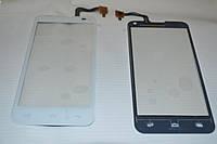 Оригинальный тачскрин  / сенсор (сенсорное стекло) для Fly IQ4415 (белый цвет) + СКОТЧ В ПОДАРОК