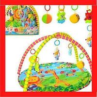 Коврик для младенца Игровой развивающий коврик для ребенка от 0 мес