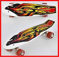 Светящийся детский скейт Детский скейтборд Детские пенни борды Скейт для детей