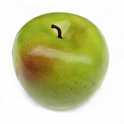 Искусственные яблоко зеленое  муляж 8 см