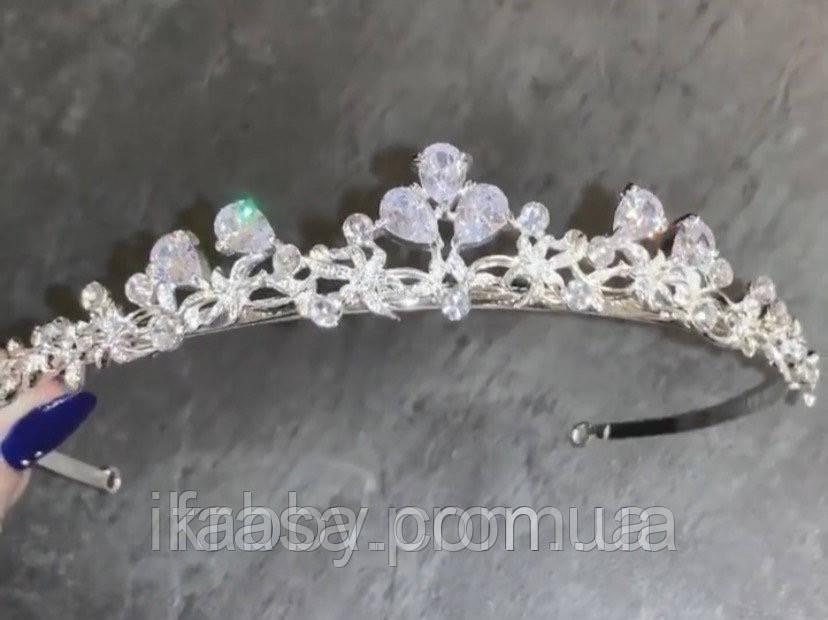 VIPs Акуратна низенька маленька діадема класу люкс з ювелірними діамантами цирконами та посрібленням