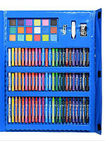 Набор для рисования с мольбертом Just Amazing в чемоданчике (208 предметов) Синий, фото 4