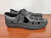 Босоніжки сандалі чоловічі чорні літні ( код 7119 ), фото 1
