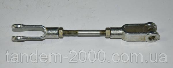 Тяга задней навески с вилкой и гайкой в сборе L=187 мм 80-4607260-03 (МТЗ)