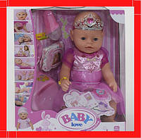 Пупс функциональный  8 функций, с аксессуарами Детская кукла Пупсик для девченки 3 года