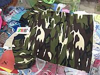 подростковая футболка для мальчика Милитари р.122-140