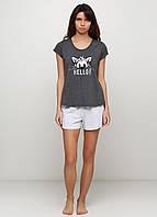 Пижама женская футболка+шорты хлопок .