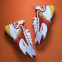 🔥 Nike Zoom 2k Orange White Найк Зум 2к Белый 🔥 Найк мужские кроссовки 🔥