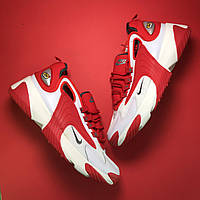 🔥 Nike Zoom 2k Red White Найк Зум 2к Белый Красный 🔥 Найк мужские кроссовки 🔥