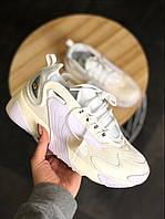 🔥 Nike Zoom Wk White Grey Найк Зум 2к Белый Серый 🔥 Найк мужские кроссовки 🔥