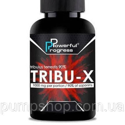 Трибулус Powerful Progress Tribu-X (90% сапонинов) 90 капс., фото 2