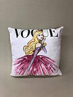 Декоративна подушка «Vogue» розмір 40х40 см, ціна 200 грн