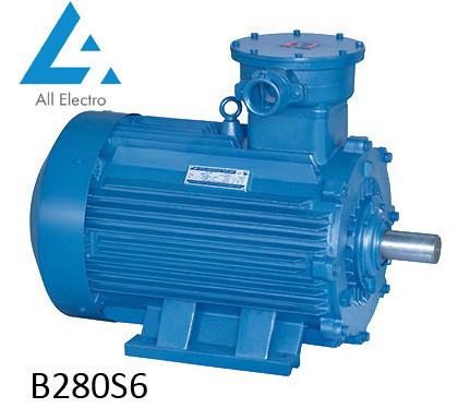 Взрывозащищенный электродвигатель В280S6 75кВт 1000об/мин