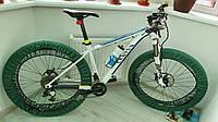 Чехлы для колес велосипеда, бахилы многоразовые, велочехлы, чехлы от грязи, 26 дюйм, зеленый