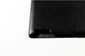 Кожаный чехол-книжка TTX (Super slim) для Apple Ipad 2/3/4 Черный