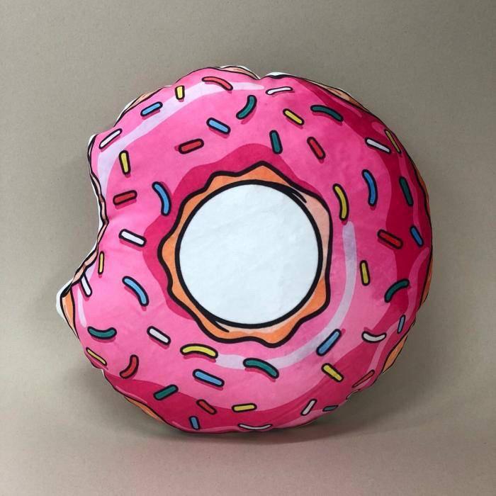 Декоративна подушка, прикраса для ліжка «Пончик» ціна 270 грн