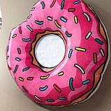 Декоративна подушка, прикраса для ліжка «Пончик» ціна 270 грн, фото 2