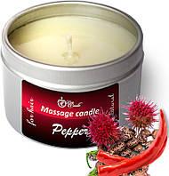 Теплая маска для волос Pepper , (50 мл), восстановления роста волос