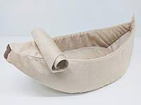 Лежак для собак и котов Банан, фото 1
