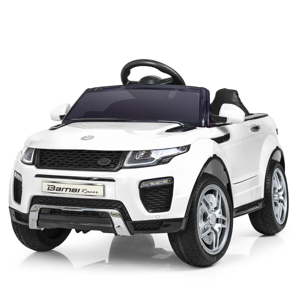 Электромобиль детский джип в стиле Land Rover (M 3213EBLR-1) 2 мотора 35W, МР3, USB, колеса EVA