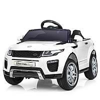 Электромобиль детский джип в стиле Land Rover (M 3213EBLR-1) 2 мотора 35W, МР3, USB, колеса EVA, фото 1