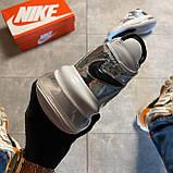 🔥 ВИДЕО ОБЗОР 🔥 Nike Air More Uptempo 720 White Silver Найк Аир 🔥 Найк мужские кроссовки 🔥, фото 2