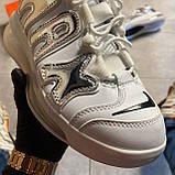 🔥 ВИДЕО ОБЗОР 🔥 Nike Air More Uptempo 720 White Silver Найк Аир 🔥 Найк мужские кроссовки 🔥, фото 5