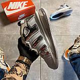 🔥 ВИДЕО ОБЗОР 🔥 Nike Air More Uptempo 720 White Silver Найк Аир 🔥 Найк мужские кроссовки 🔥, фото 7