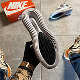 🔥 ВИДЕО ОБЗОР 🔥 Nike Air More Uptempo 720 White Silver Найк Аир 🔥 Найк мужские кроссовки 🔥, фото 8