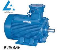 Взрывозащищенный электродвигатель В280М6 90кВт 1000об/мин