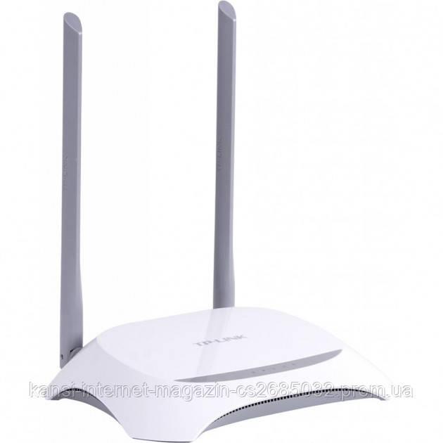 Маршрутизатор TP-LINK TL-WR840N, Wi-Fi  роутер