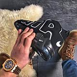 🔥 ВИДЕО ОБЗОР 🔥 Air More Uptempo Black Черный Найк Аир Аптемпо 🔥 Найк мужские кроссовки 🔥, фото 7
