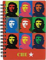 "Блокнот А6 80л # ""Kite"" CG15-226K ""Che Guevara"" спир."
