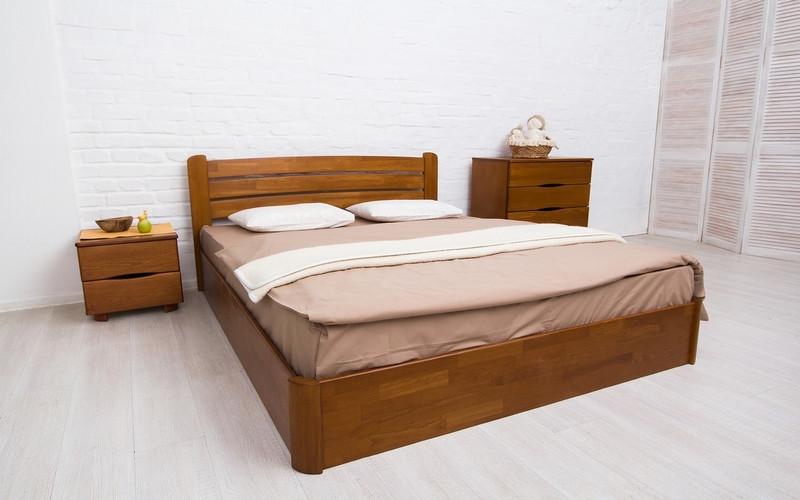 Кровать деревянная София V с подъемным механизмом ТМ Олимп