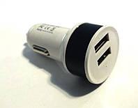 Адаптер автомобильный CAR USB, зарядка на 2 USB порта, фото 1