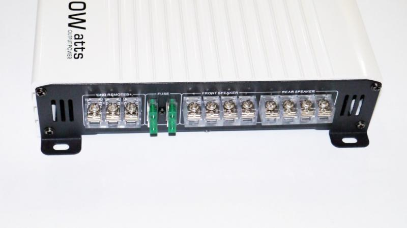 Усилитель звука автомобильный ADS AD-406 4000Вт