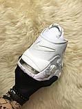 🔥 Nike Air More Uptempo White on White Белый Найк Аир Аптемпо 🔥 Найк мужские кроссовки 🔥, фото 6
