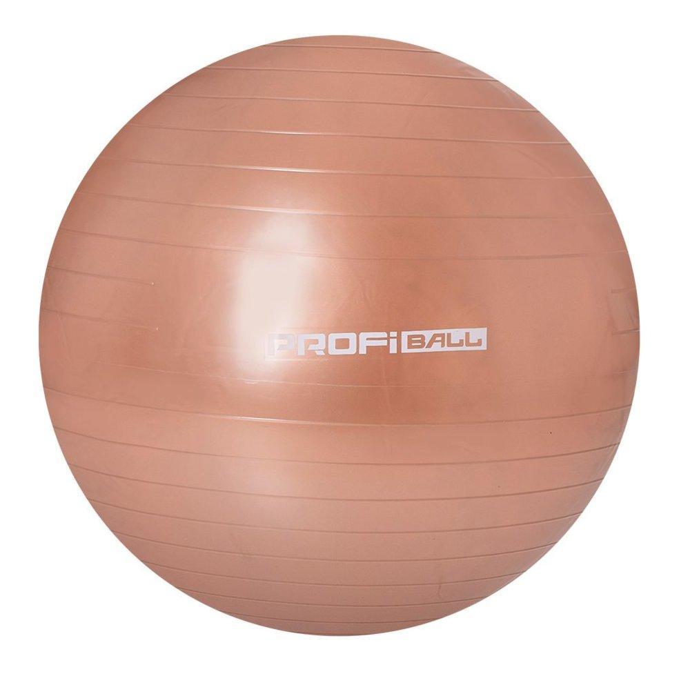 Мяч для фитнеса (фитбол) Profit 65 см, М0276 brown