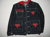 Куртка джинс для мальчика