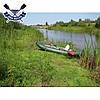 Одноместная байдарка надувная Ладья ЛБ-300УВ Комфорт Плюс Турист надувной каяк Ладья  байдарка туристическая, фото 9