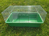 "Клетка для кролика ""Кролик  Гранд"" (910 х 520 х 450)мм цинк, фото 1"