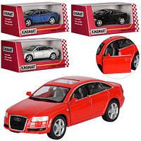 Машинка KT 5303 W мет., інерц., 1:38, гумові колеса, відчин. двері, 4 кольори, кор., 16-7-8 см.