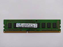 Оперативная память Samsung DDR3 1Gb 1333MHz PC3-10600U (M378B2873FHS-CH9) Б/У