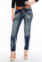 Женские джинсы бойфренд JASS jeans 218-17239 синие