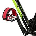 Ремни для педалей Стрепы (Туклипсы) велосипедные ремешки, Салатовый, фото 8