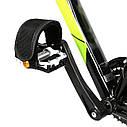 Ремни для педалей Стрепы (Туклипсы) велосипедные ремешки, Салатовый, фото 10